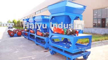 Concrete Pole Feeding Machine