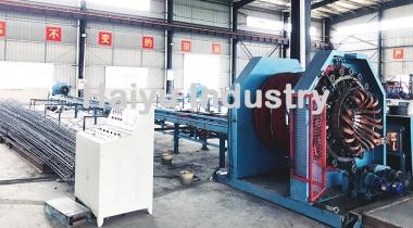 Concrete Pole Steel Cage Welding Machine