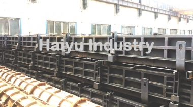 Solid Square Concrete Pile Mould