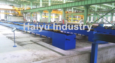 Concrete Pile Chain Conveyor Machine